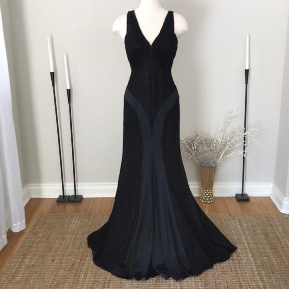 Val Stefani Dresses | Black Lace Backless Dress Nwot | Poshmark